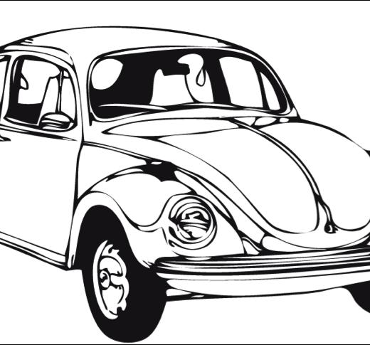 Carros antiguos y clasicos para colorear - Imagui