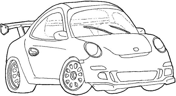 Carros para dibujar.