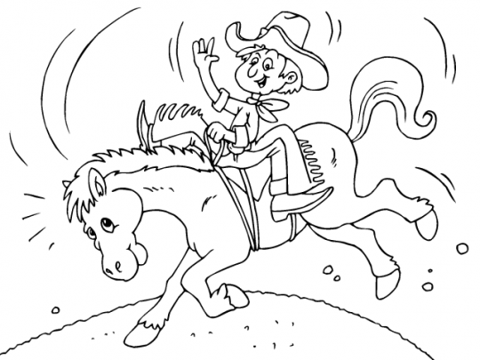 Colorear caballos