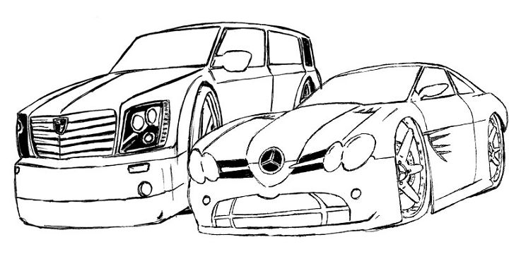 Policia carro colouring pages for Coches para pintar