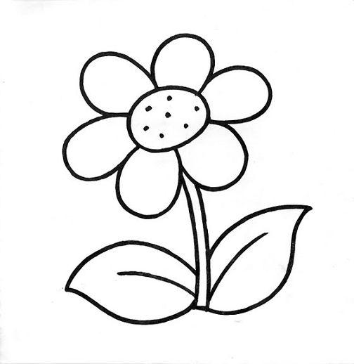 Dibujos De Flores En Blanco Y Negro. Finest Papel Mural Flores En ...