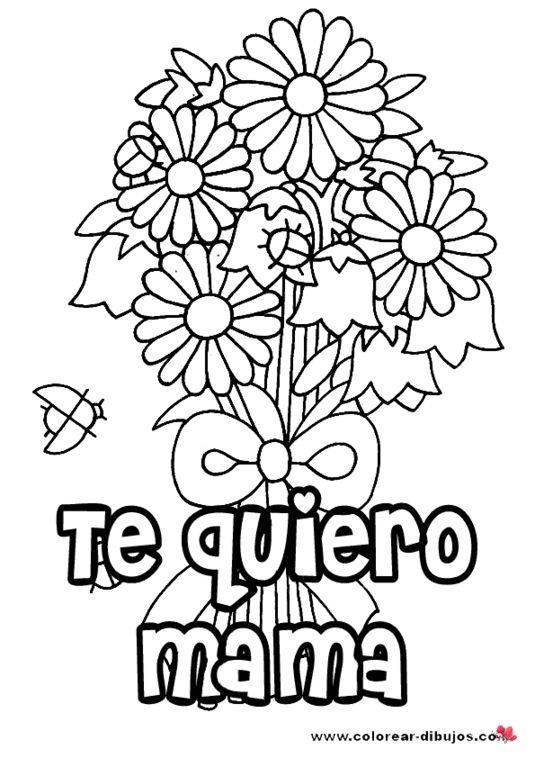 Fantástico Te Amo Para Colorear Imagen - Ideas Para Colorear ...