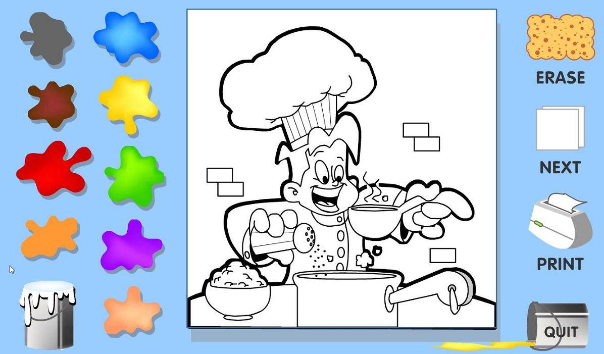 Juegos para pintar gratis  Imagenes para dibujar
