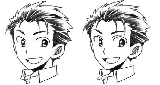 Como dibujar ojos anime masculinos