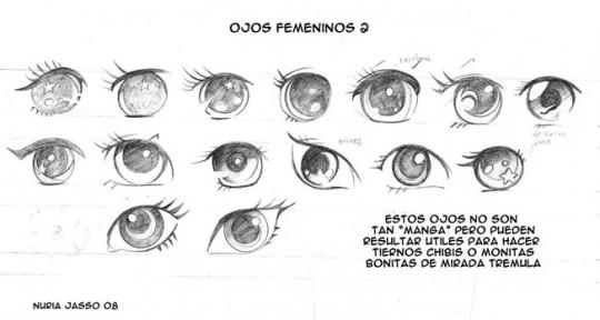 Como dibujar ojos anime masculinos online