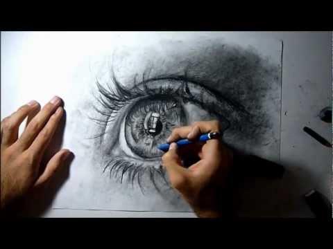 Dibujar ojos realistas para descargar