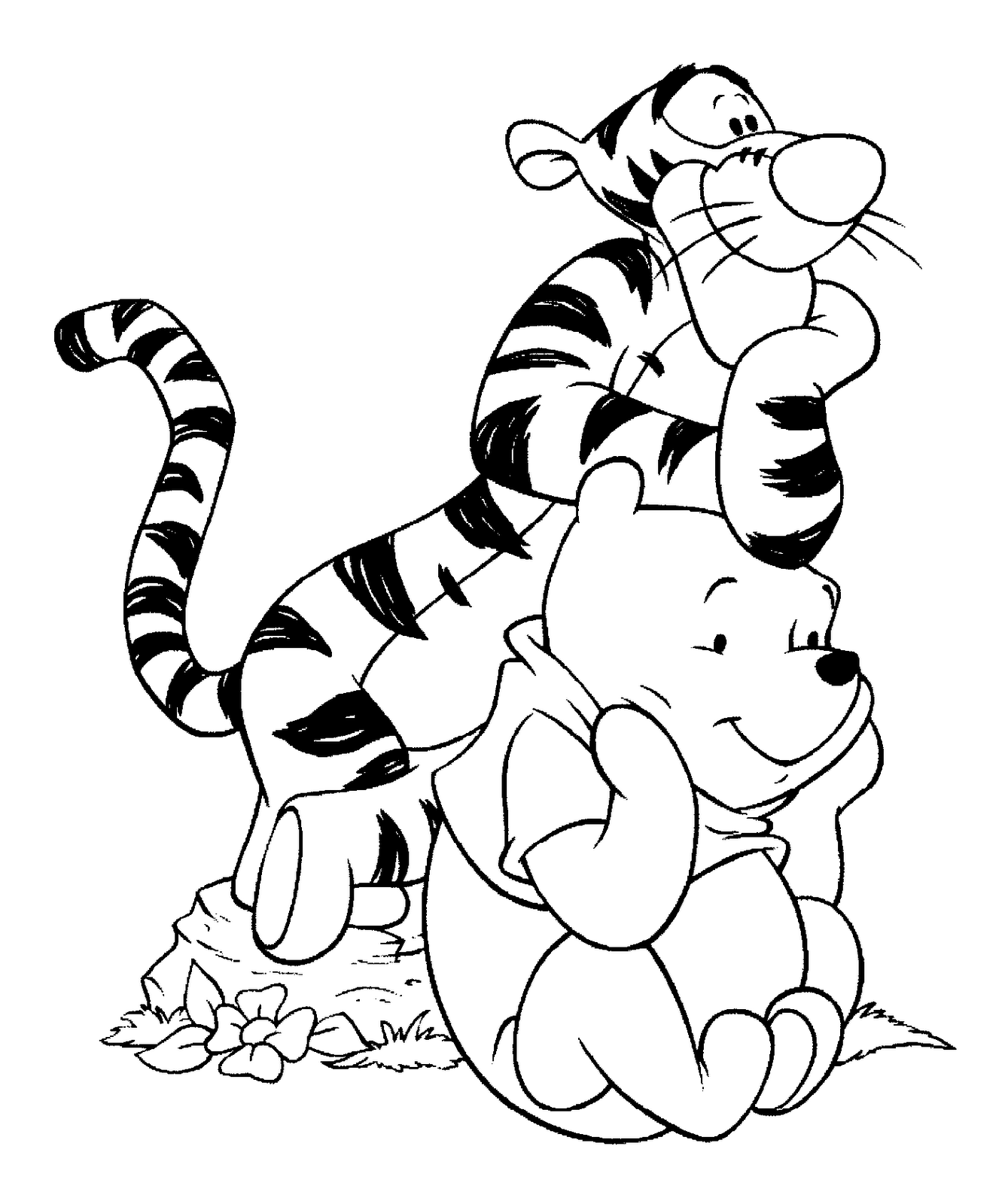 Imagenes De Muñequitos Para Dibujar | Dibujos Para Colorear Online