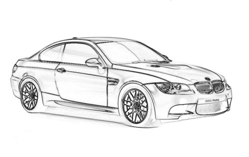 Dibujos para calcar autos tuning - Imagui