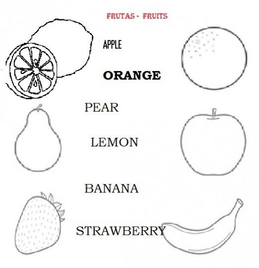 Dibujos-de-frutas-para- ...