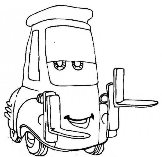 Dibujos para colorear de cars  Imagenes para dibujar