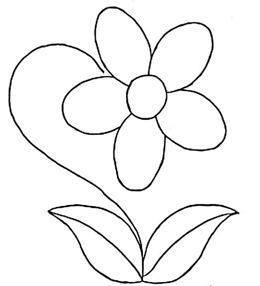 Flores animadas para pintar - Imagui