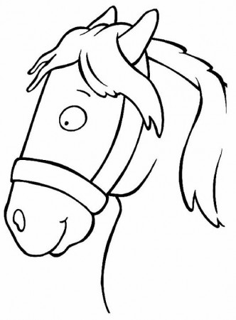 Imagenes - colorear caballos en linea - colorear