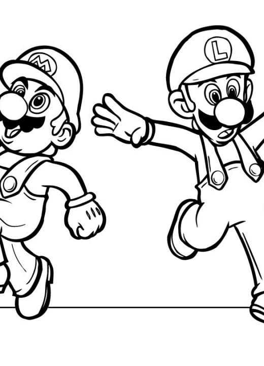 Dibujos De Luigi Para Pintar Imagui