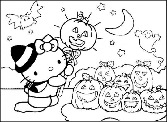 Imagenes de halloween colorear