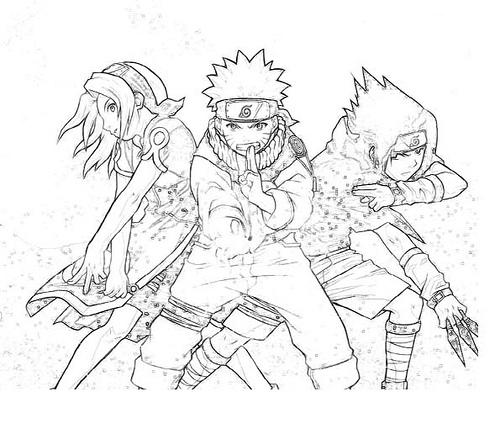 Naruto uzumaki zorro 9 colas para dibujar - Imagui