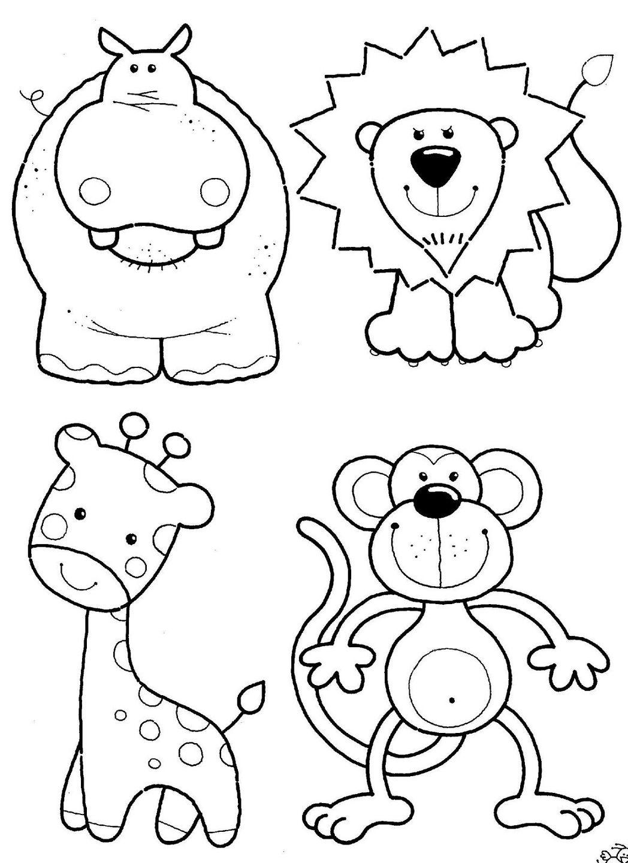 Imagenes de animales para colorear - Fotos de animales infantiles ...