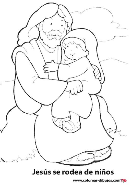 dibujos para colorear las misiones infantiles. jess de dibujos ...