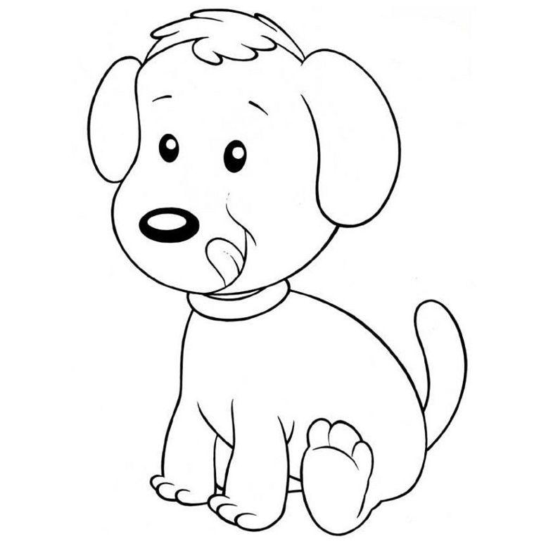 Imagenes de perros para colorear y dibujar for Imagenes de cuadros abstractos para colorear