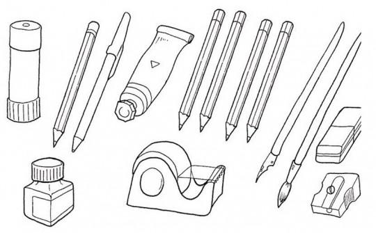 Dibujo De Autos Tuning Para Colorear En Tu Tiempo Libre Dibujos 5: Lpices Para Colorear. Dibujos Animados. Affordable Lapiz