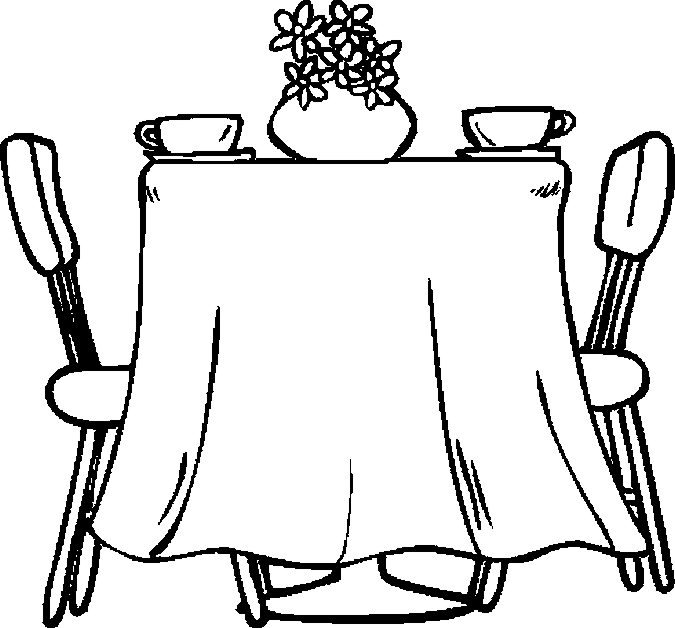 table top coloring pages - photo #11