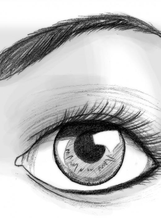 Ojos para dibujar - Maneras de pintar los ojos ...