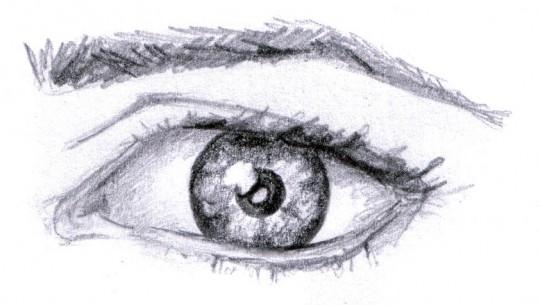 Que significa dibujar ojos faciles