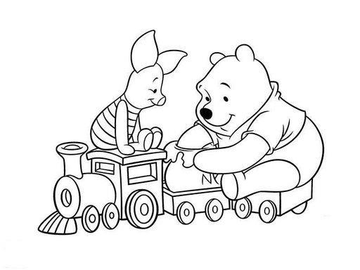 Winnie pooh para colorear online