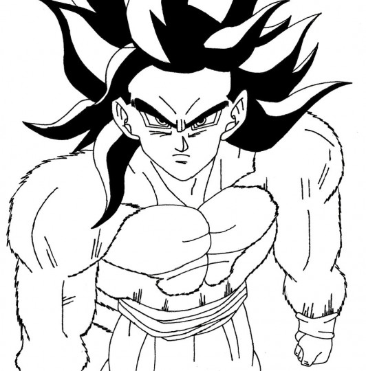 colorear Goku