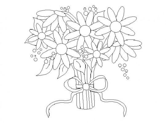 Dibujos De Flores Para Colorear Bonitas Y Fáciles De: Flores Para Dibujar