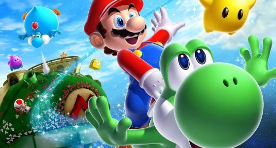 Mario bros para colorear.