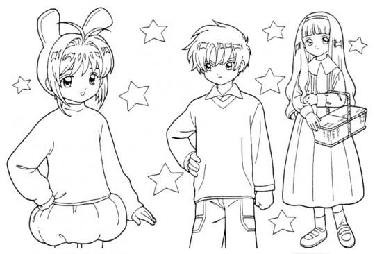 Anime dibujar