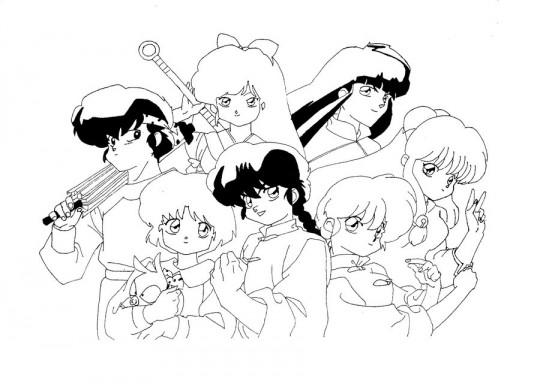 Anime para dibujar ranma