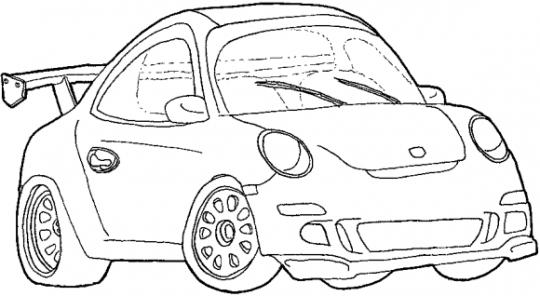 Carros para dibujar faciles de descargar