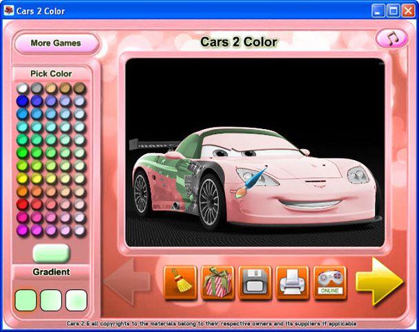 Juegos para pintar gratis - Cars 2 gratuit ...