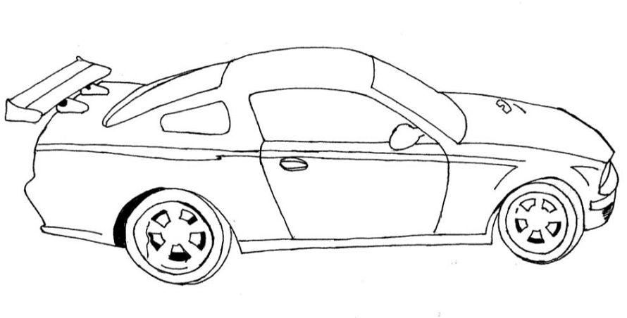Imagenes De Carros Para Colorear: Carros Para Colorear
