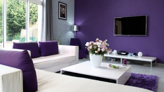 Colores para pintar una sala moderna