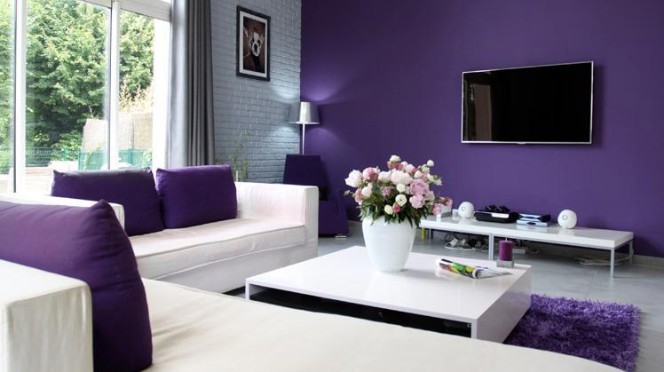 Colores para pintar una sala - Colores de pinturas para salones ...