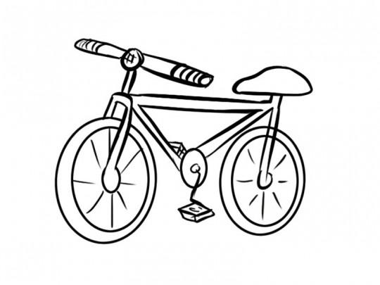 Cosas para dibujar bicicleta