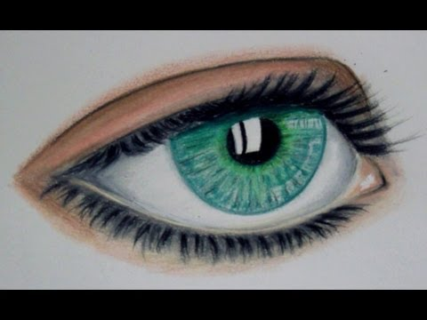 Dibujar ojos realistas gratis