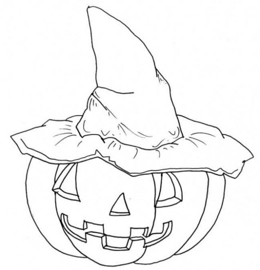 Dibujos colorear de halloween