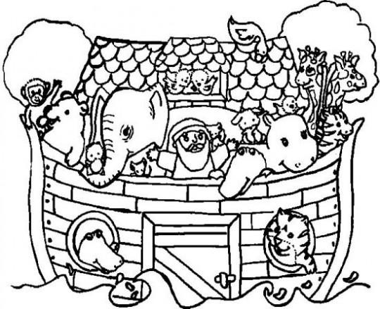 Dibujos cristianos para colorear en casa