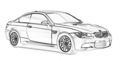 Dibujos de carros para colorear gratis