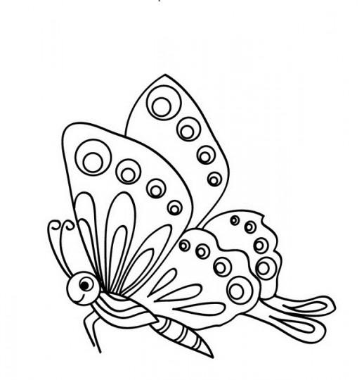 Dibujos de mariposas colorear