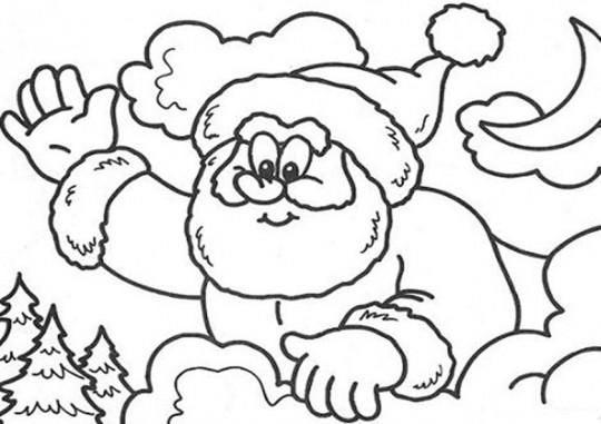 Dibujos De Navidad Muy Bonitos.Dibujos De Navidad Para Colorear