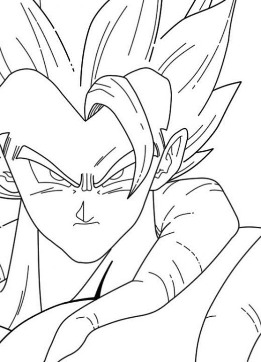 Imagenes De Dragon Ball Z Para Pintar Faciles on Dibujos Para Imprimir Gratis De Goku