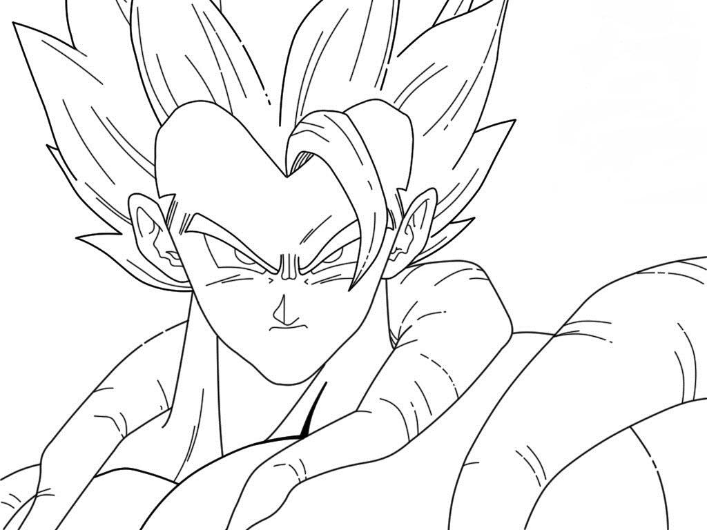 Dragon Ball Z Para Colorear