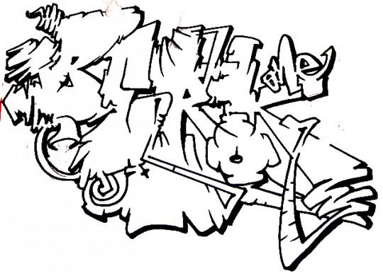 Graffitis dibujar