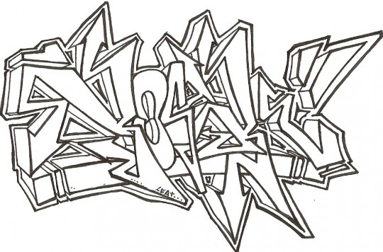 Graffitis para dibujar online