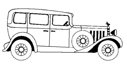 Imagenes carros para colorear