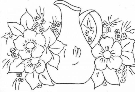 Imagenes de flores para pintar online